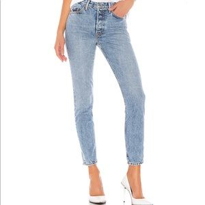 Karolina jeans, denim, woman jean, light wash
